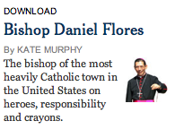 The bishop of the most heavily Catholic town in the U.S. reads Korrektiv?