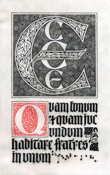 Ecce Quam Bonum, by Daniel Mitsui