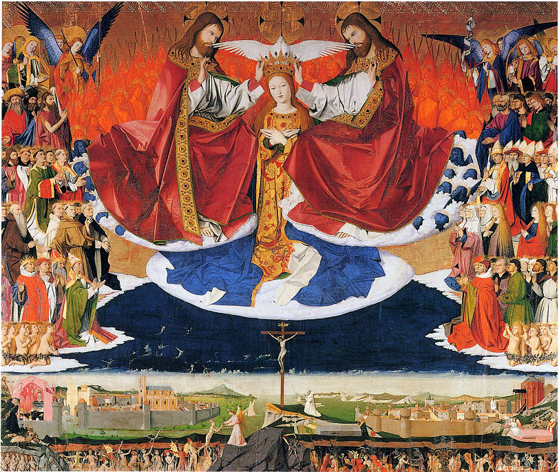 The Coronation of the Virgin, Enguerrand Quarton, c. 1453