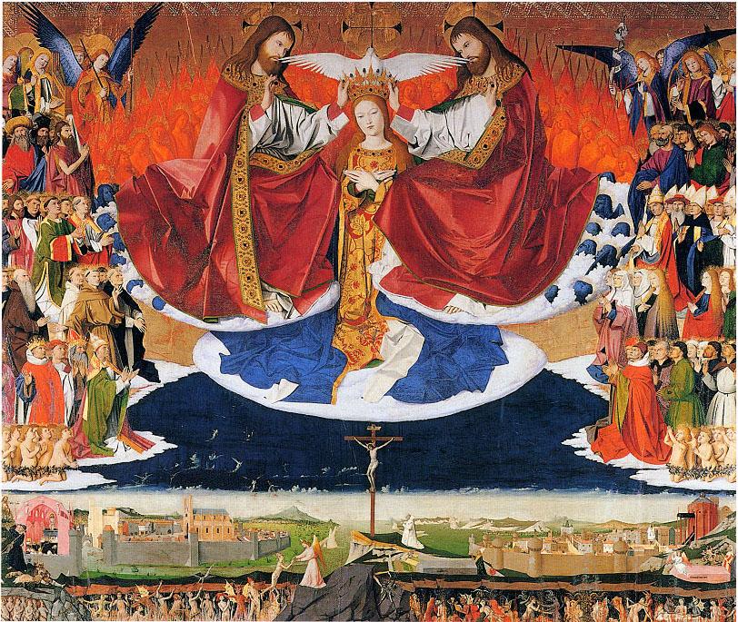 The Coronation of the Virgin, Enguerrand Quarton, c. 1453