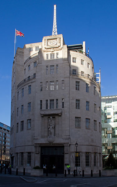 BBC Portland Place ('Broadcast House'), photographed by Tony Hisgett