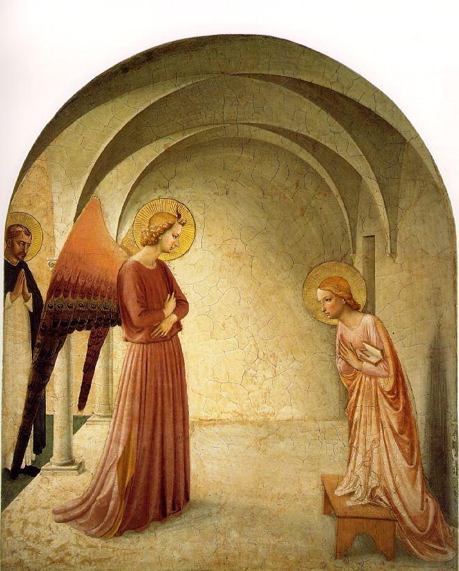 Cell 3 of the Convent of San Marco by Blessed John of Fiesole, OP (Fra Angelico), 15th Century