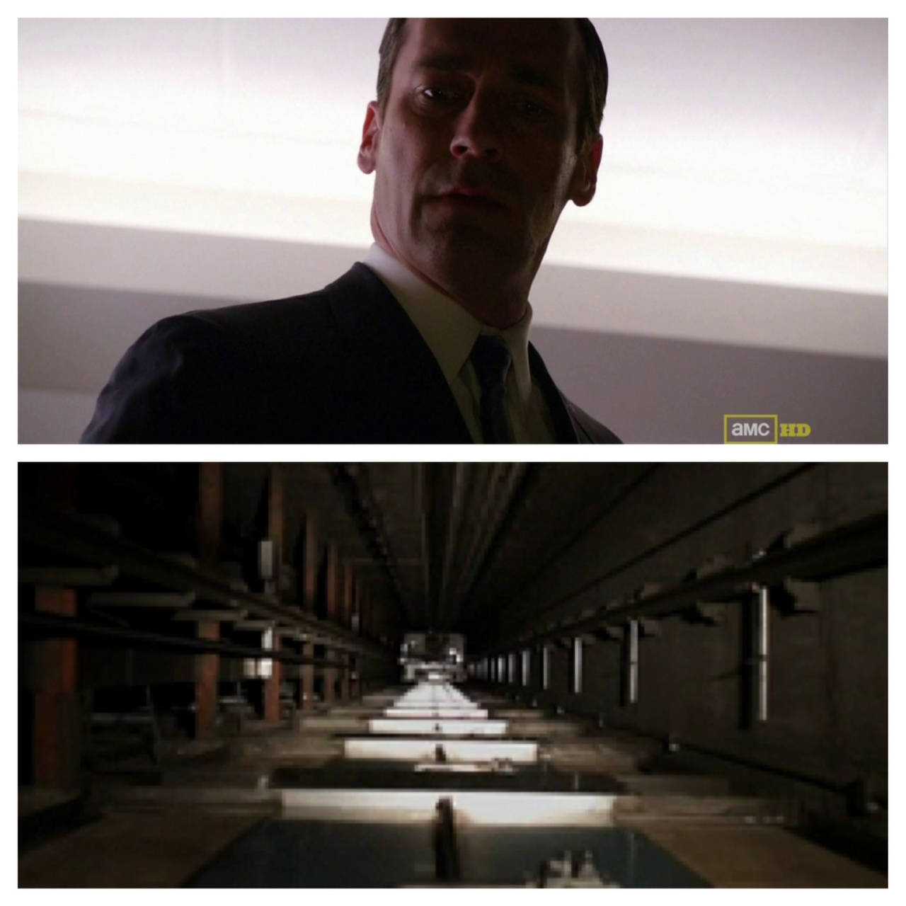Frames from Mad Men Episode 5.8, 'Lady Lazarus'