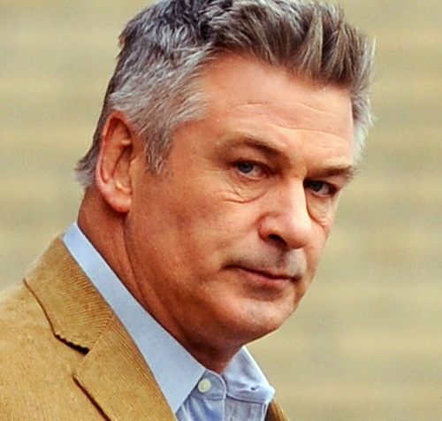 "Alec Baldwin on the set of ""Still Alice"" in NYC"