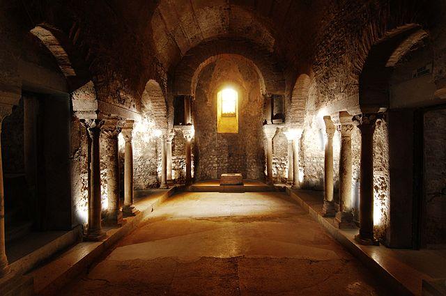 Musée archéologique de Grenoble, crypte Saint-Oyand, VIe siècle