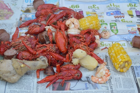 Mudbugs in the milieu...