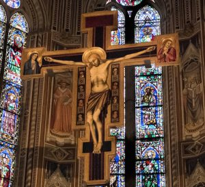 crucifix-santa-croce-florence-italy